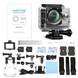 Wifi 1080P 4K Ultra HD Sport Action Camera DVR DV Waterproof