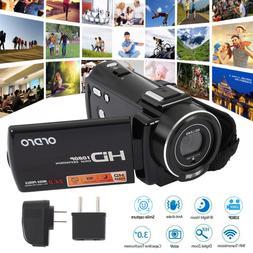WiFi 4K ULTRA HD 1080P 24MP Digital Video Camera Camcorder R