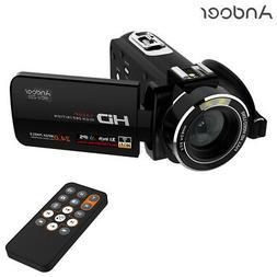 "Full HD 1080P WiFi 3.0"" LCD Digital Video Camera 24 Mega Pix"