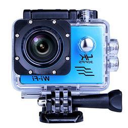 Sports Camera Sport Video 4K WIFI Action Cam 16 MP Underwate