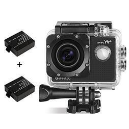 WOQI 4K WIFI Sports Action Camera Ultra HD Waterproof DV Cam