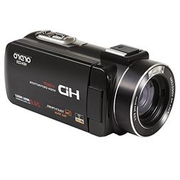 ORDRO Wifi Camcorder HD 1080P 16X Digital Zoom Video Camera