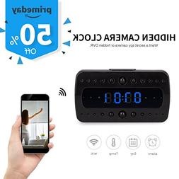 FREDI HD 1080P Wifi Camera Alarm Clock Night Vision/Motion D