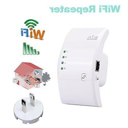 WiFi Range Extender, Pix-Link 300Mbps WiFi Repeater Wireless