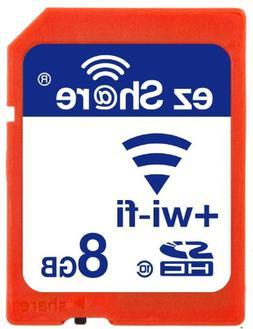 Wifi Sd Memory Card 8GB Class 10 New New Inc® 2nd Generatio
