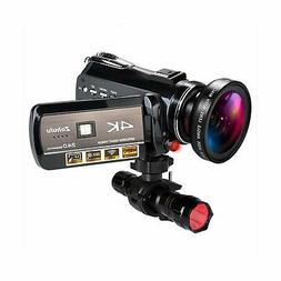 Ancter Actor-DV-005 4K WiFi Full Spectrum Camcorders, Ultra