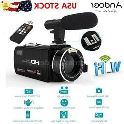 Andoer WiFi Ultra HD 1080P 24MP Digital Video Camera DV Camc
