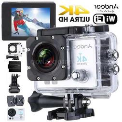 WiFi 4K FULL HD 1080P Waterproof Sport DV Video Action Camer