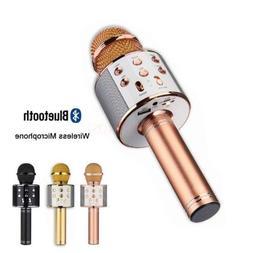 Wireless Bluetooth Karaoke KTV Microphone Speaker Stereo Sin