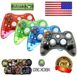 Wireless/ USB Wired Controller Gamepad For Xbox 360/ Xbox On