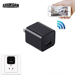 MAGENDARA Wireless HD 1080P WIFI Hidden Charger Spy Camera