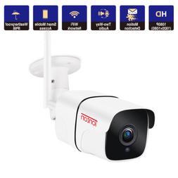 Tonton 1080P Wireless IP Camera WIFI Outdoor Security HD IR