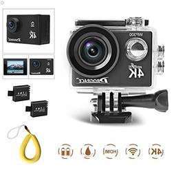 DROGRACE WP300 Action Camera 4K Wifi 16MP Waterproof Sports