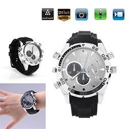 Rundaotong-US Wrist Smart Watch Camera HD 1080P Infrared Nig