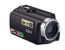 PowMax WW-34 1080P 24MP 16X Digital Zoom Camcorders WIFI Con