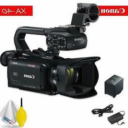 Canon XA40 Professional Camera - Black Bundle 1