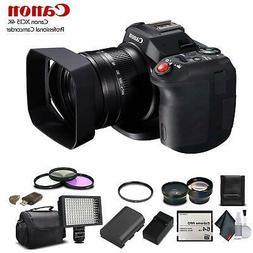 Canon XC15 4K Professional Camcorder 1456C002 64GB Memory Ca