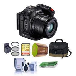 Canon XC15 4K UHD Compact Professional Camcorder, 10x Optica
