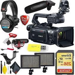 Canon XF405 4K UHD 60P Camcorder with Dual-Pixel Autofocus B