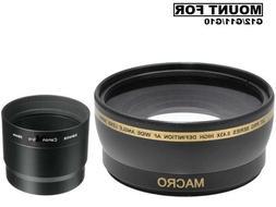 Xit XT58WAB 58mm 0.43 Wide Angle Lens