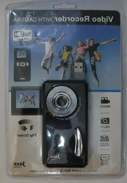 Jazz Z5 Video Recorder with Camera LCD Flip Screen + 8GB Mem