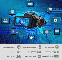 Ordro Z80 Digital Video Camera 10x <font><b>Optical</b></fon
