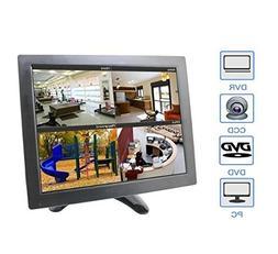 "ZOTER 10"" Small Monitor BNC AV HDMI Video for CCTV LCD Displ"
